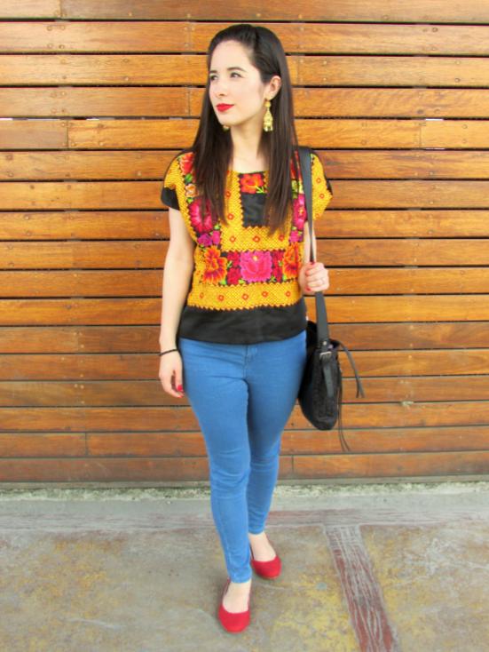 amanoarte-mexico-a-colores-outfit-artesanal-oaxaca-huipil-tehuana