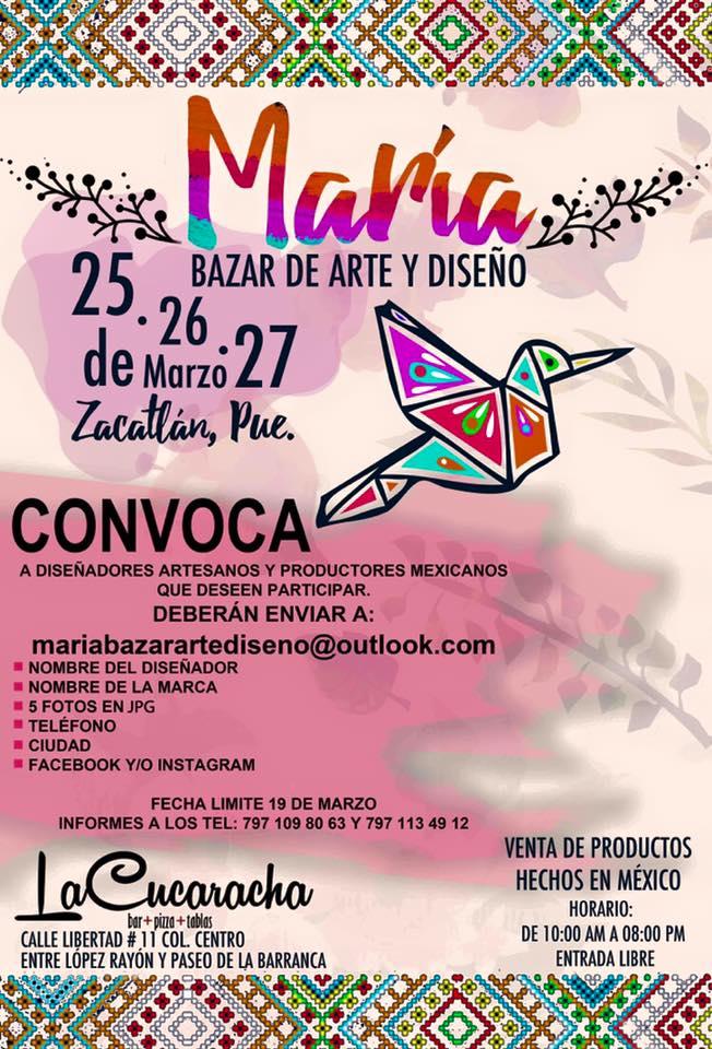 convocatoria-maria-bazar-de-arte-y-diseño-mexico-a-colores